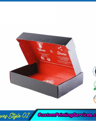 Apparel Packaging Boxes