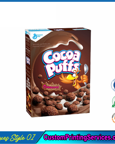 Chocolate Cereal Boxes