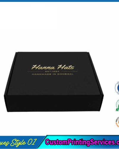 Hair Extension Logo Boxes