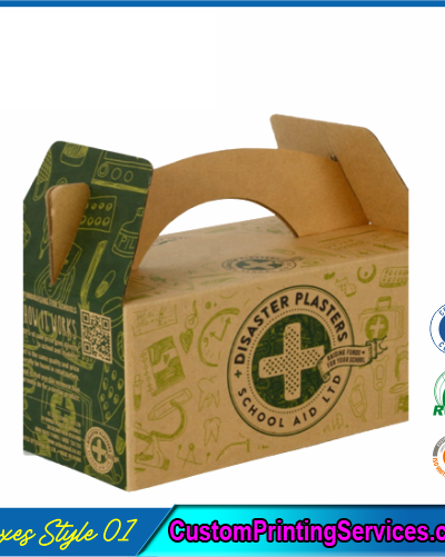 Kraft Gable Packaging Boxes