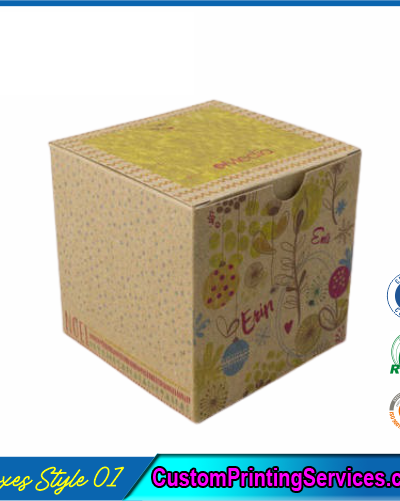 Kraft Tuck Top Boxes