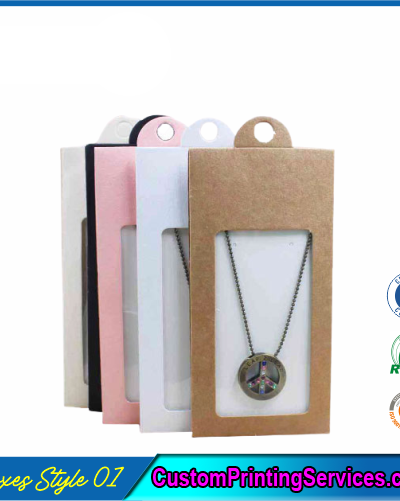 Necklace Packaging Boxes