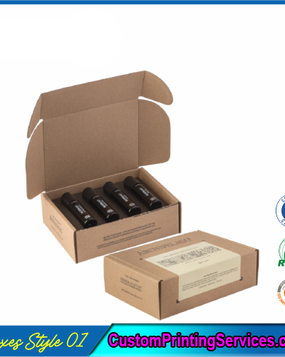 Printed Essential Oil Packaging Boxes