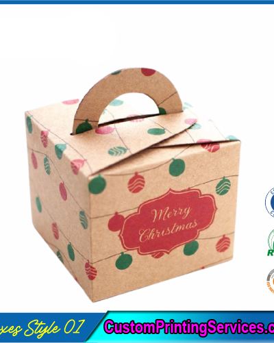 Printed Kraft Gift Boxes Packaging