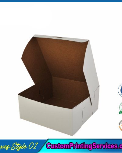 Side Lock Cornner Packaging Boxes