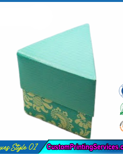Simple Triangular Gift Boxes