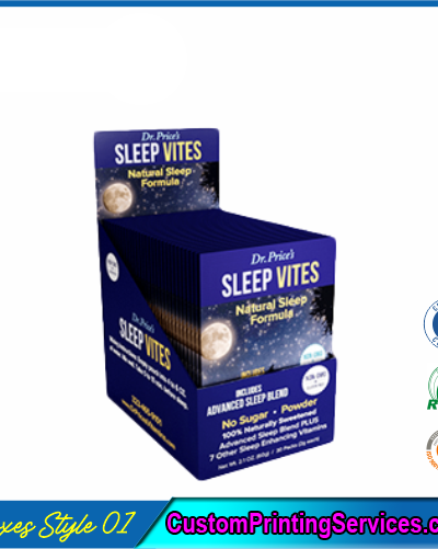 Sleep Serum Packaging Boxes