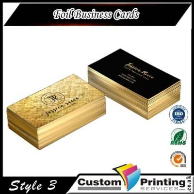 Foil Business Cards Printing