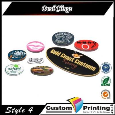 Oval Clings Printing